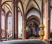 Beautiful ceiling and hall in the dome in Wetzlar — Stock Photo