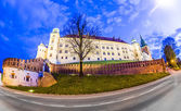 Wawel Hill by night - Krakow  — Stock Photo