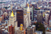 New York in the evening — Stock Photo