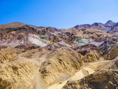 Artists Point Along Artists Drive, Death Valley National Park — 图库照片