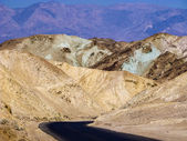 Artists Point Along Artists Drive, Death Valley National Park — Stock Photo