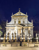Church of Saints Peter and Paul in Old Town district — Stock Photo