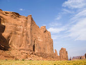 Rock formations at monument valley — Stock Photo