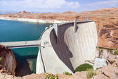 Glen Canyon Dam, near Page Arizona — Stock Photo