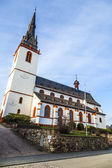 tower of st. Martin church in Eltville Erbach — Stock Photo