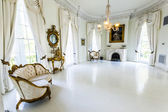 Rooms inside famous Nottoway Plantation — Stockfoto