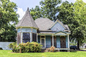 Old homes at the Charpentier district in Lake Charles — Stock Photo