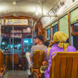 People travel with the famous old Street car — Stock Photo #49710853