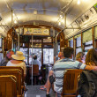 People travel with the famous old Street car — Stock Photo #49712443