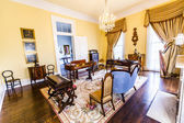 Rooms inside famous Nottoway Plantation — Stock Photo