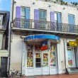 Постер, плакат: Sex shops in old historic building in the French Quarter