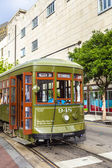 Streetcar Line St. Charles in new Orleans — Stock Photo