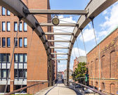 Warehouses in Speicherstadt in Hamburg, Germany  — Stock Photo