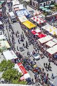 People celebrate Christopher Street day in Frankfurt — Stock Photo