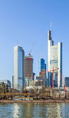 Skyline of Frankfurt, Germany — Stock Photo