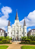 Beautiful Saint Louis Cathedral in the French Quarter in New Orl — Stock Photo