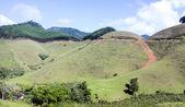 Lake and mountains at Canela, Rio Grande do Sul - Brazil — Stock Photo