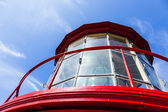 Beautiful lighthouse from Sankt Augustine — Stock Photo