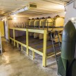 Casemate 35 3 at the Maginot line in Marckolsheim from inside — Stock Photo #50321629