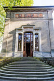 Trinkhalle ,pump house in the Kurhaus spa complex in Baden-Baden — Stock Photo