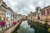 Canal in Little Venice in Colmar, France — Stock Photo