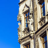 Detail of the town hall on Marienplatz, Munich  — Stock Photo