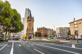 Eschersheimer turm  in Frankfurt, Germany — Stock Photo
