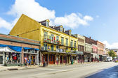 historic building in the French Quarter in New Orleans — Stock Photo