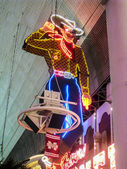 Vegas Vic at the Fremont Street Experience  — Foto de Stock