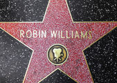 Robin Williams star on Hollywood Walk of Fame  — Stock Photo