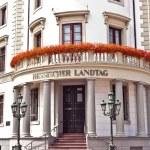House of politics, the Hessischer Landtag in Wiesbaden — Stock Photo #6695545