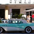 Midday view at ocean drive to the art deco buildings in Miami so — Stock Photo #8658526