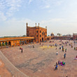 Jama Masjid Mosque, old Delhi, India. — Stock Photo #8894735