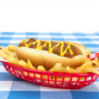 Chilidog on white background — Stock Photo #12114976