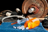 Steroids and sports — Stock Photo