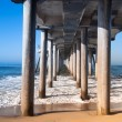 Stock Photo: Pilings