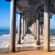 Pilings - Foto Stock