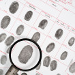 Fingerprints - Foto Stock