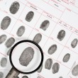 Fingerprints - Stockfoto