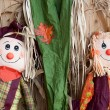 Scarecrows — Stock Photo
