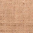 Burlap close up - Stock Photo