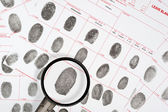 Fingerprints — Stockfoto