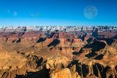Tramonto nel grand canyon — Foto Stock