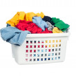 Dirty laundry - Stock Photo