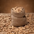 Bag of peanuts - Stock Photo