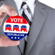 Republican politician — Stock Photo