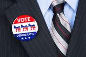 Democratic voter — Stock Photo