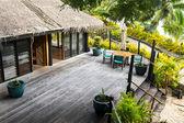 Resort lodge — Stock Photo