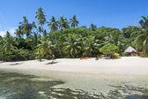 Exotic beach resort — Stock Photo