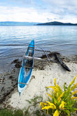 Outrigger boat — Stock Photo